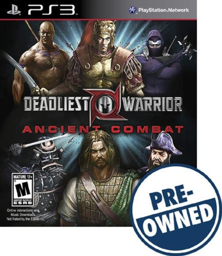 Deadliest Warrior: Ancient Combat - PRE-Owned - PlayStation 3