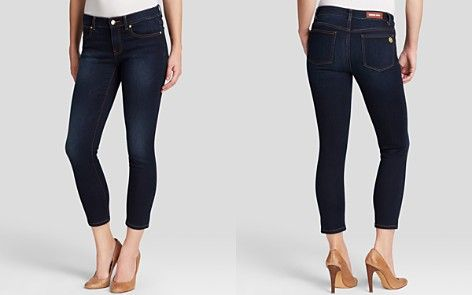 MICHAEL Michael Kors Cropped Skinny Jeans in Midnight