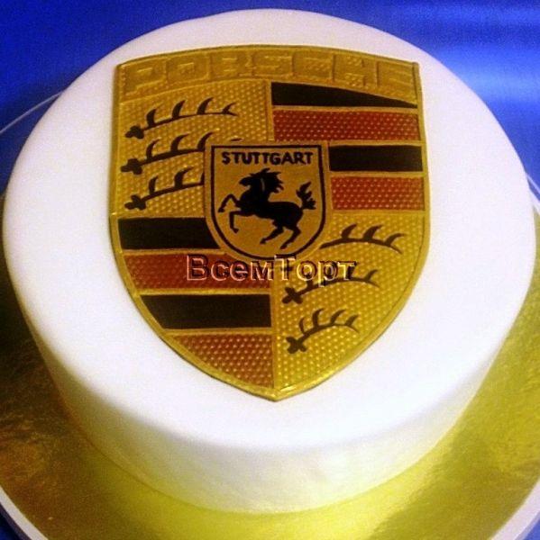 Торт на заказ Порше