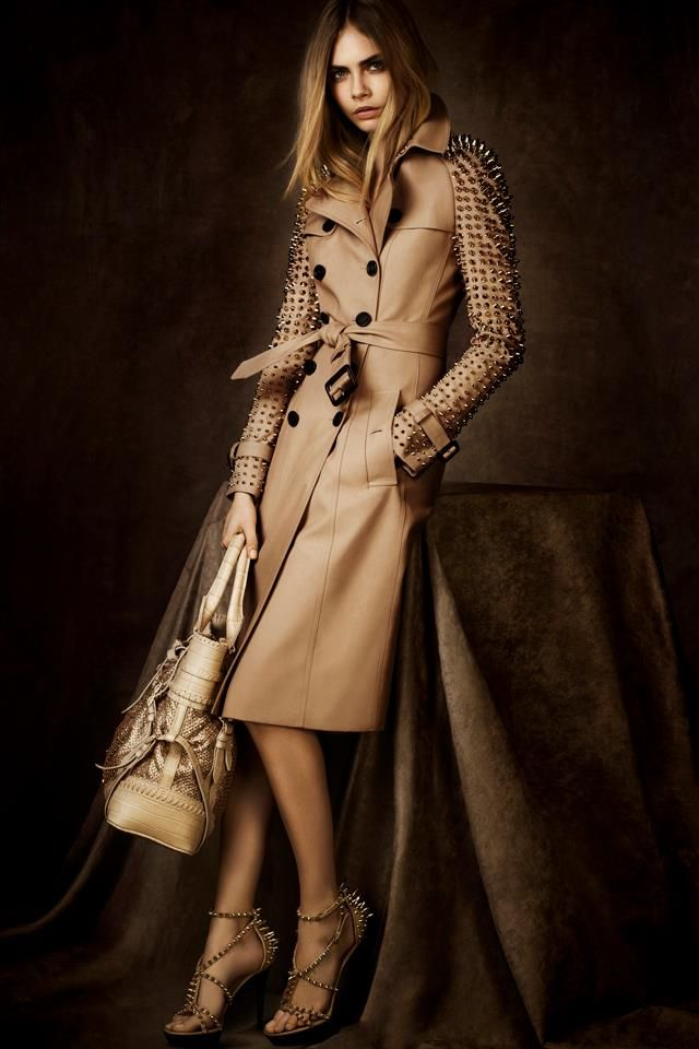 Burberry walditch petite coat, nude desi virgins