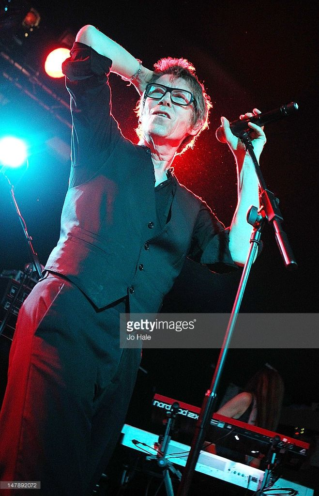 Richard Butler of the Psychedelic Furs performs on stage at Relentless Garage on July 5, 2012 in London, United Kingdom.