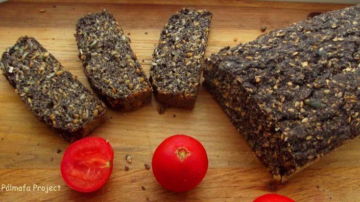 Lenmagos mákos kenyér liszt nélkül