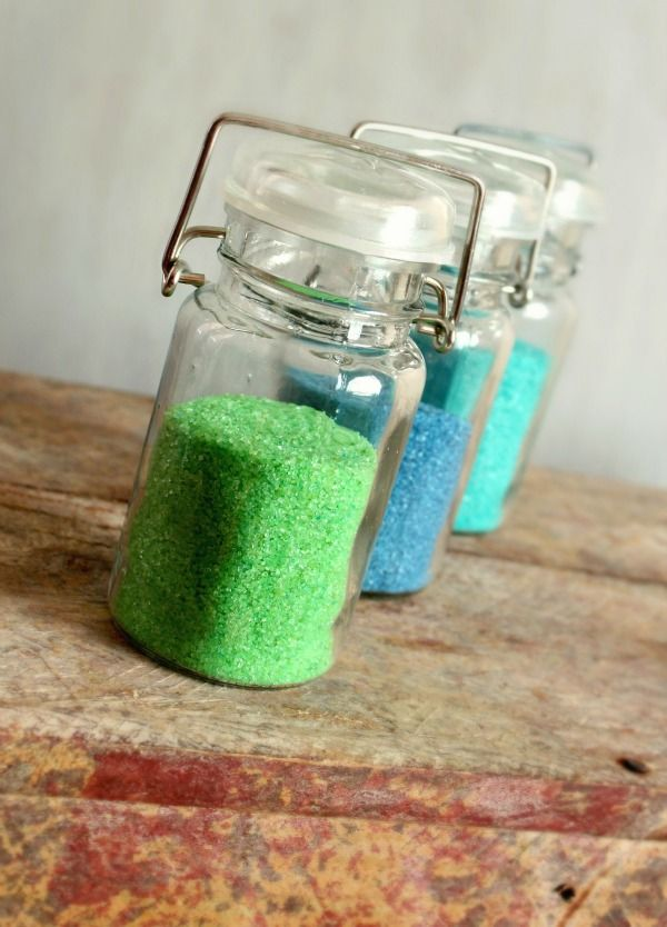 """how to make your own """"sanding sugar"""" for decorated cookies!"""