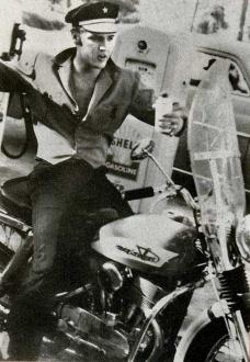 Elvis Harley Davidson Bike