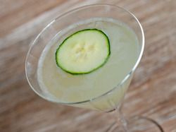 Cucumber Gimlet | Serious Eats : Recipes. Use rosemary syrup instead of simple syrup