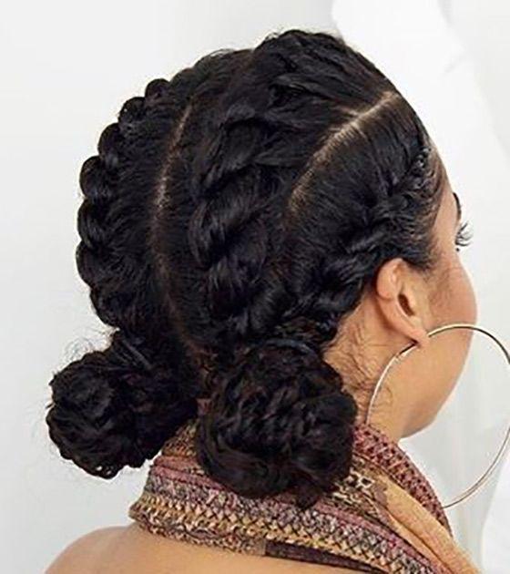 Cute Feed In Braids Natural Hair Styles Braided Hairstyles