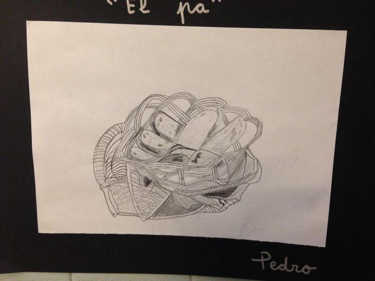 PANERA DALÍ - Material: Cartolina, paper, llapis, cistella, pa, drap - Nivell: 4PRI CM 2015-16 Escola Pia Balmes