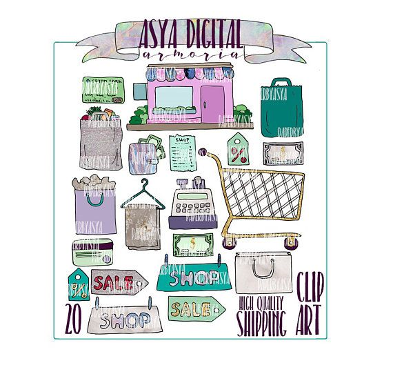 Hey, I found this really awesome Etsy listing at https://www.etsy.com/ru/listing/508937726/shopping-clipart-groceries-clipart-money