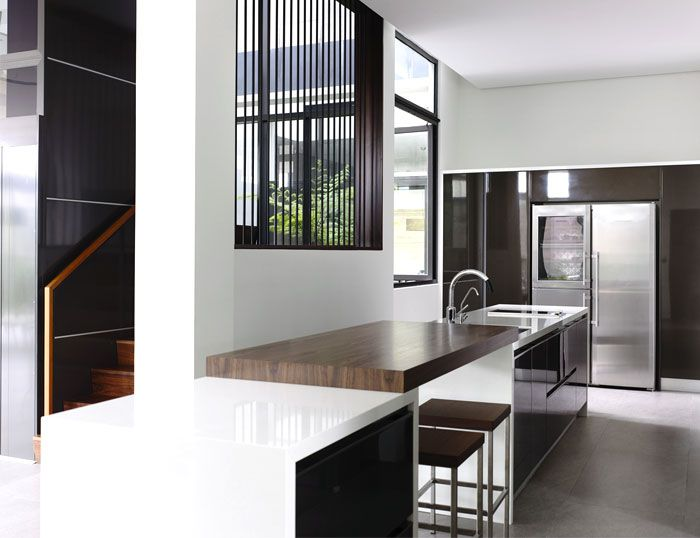 Semi-Detached House in Singapore - #kitchen #kitchendesign
