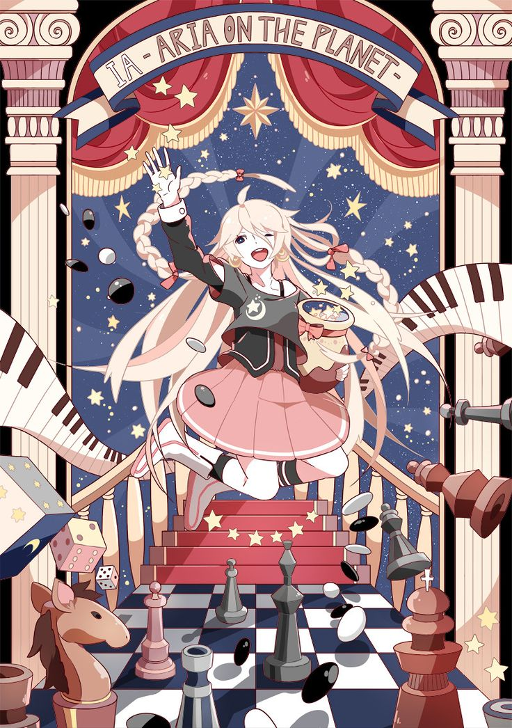 IA Vocaloid fanart by chamooi