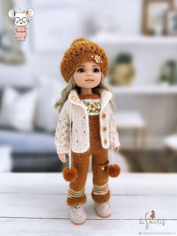 Одежда для кукол Паола Рейна. Набор бежево-карамельный с ...