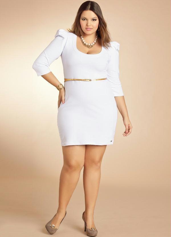 Http www posthaus com br moda vestido plus size com mangas princesa