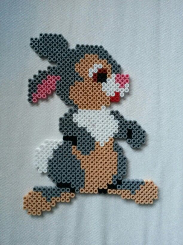 Thumper - Bambi Hama beads by Thea P.