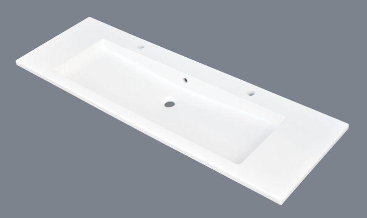 Umywalka naszafkowa konglomeratowa 140x45 cm Lissabon 140 wyposażenie łazienek www.kaczucha.pl