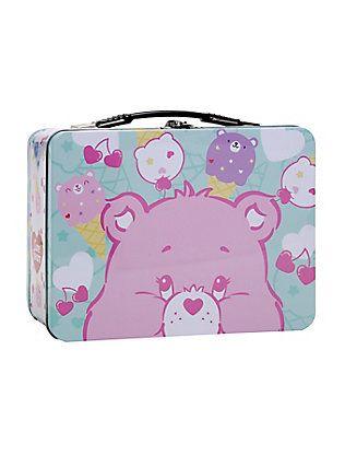 Care Bear Pastel Metal Lunch Box,