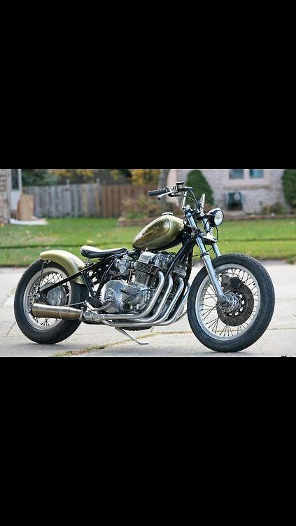 Bobber Inspiration | Honda CB750 bobber | Bobbers and Custom Motorcycles