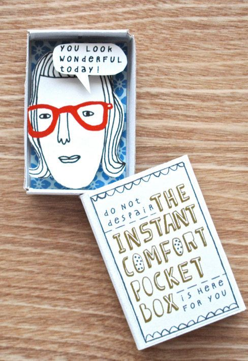The Instant comfort pocket book :)