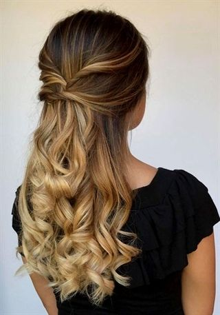 wanted long prom hairstyles