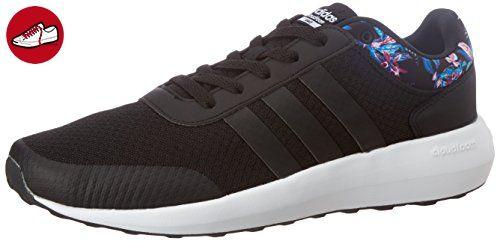 adidas Damen Cloudfoam Race W Sneaker Low Hals, Schwarz (Negbas/Negbas/Ftwbla), 42 EU - Adidas sneaker (*Partner-Link)
