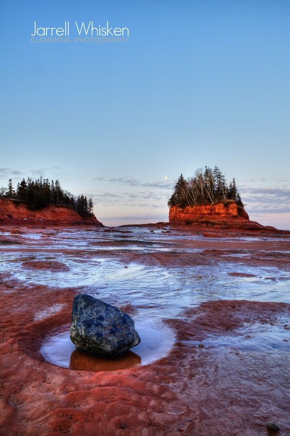 "Bay of Fundy | Nova Scotia, Canada • ""Burntcoat Head Lighthouse"" by Jarrell Whisken on http://500px.com/photo/5797737"
