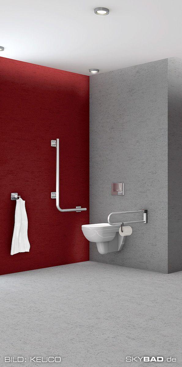 Modernes Und Farbenfrohes Barrierefreies Badezimmer In 2020 Barrierefreie Duschen Badezimmer Umbau Barrierefrei
