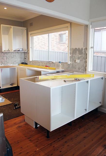 ikea kitchen island installation. Black Bedroom Furniture Sets. Home Design Ideas