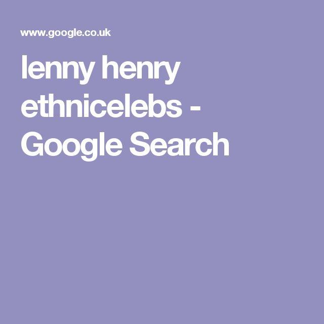 lenny henry ethnicelebs - Google Search