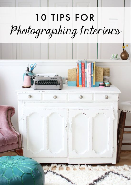 10 tips for photographing interiors // At Home in Love