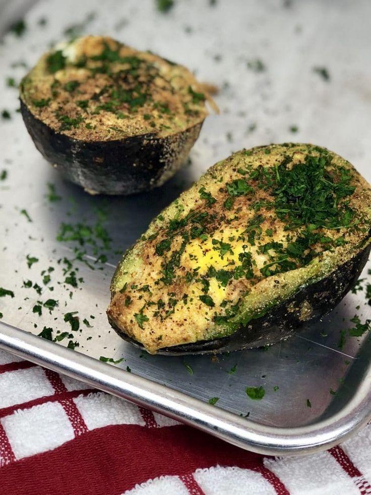 Air Fryer Baked Avocado Egg Recipe Avocado egg bake