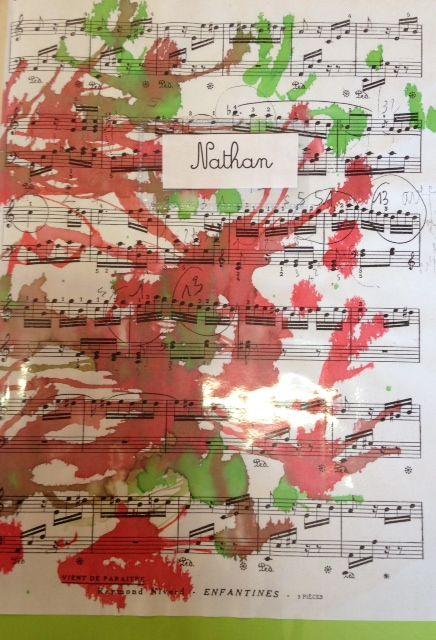 Couvertures cahier musique