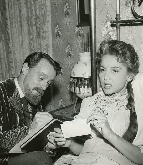 "Harry Townes and Beverly Garland in Telephone Time's ""The Other Van Gogh"" (1957)"