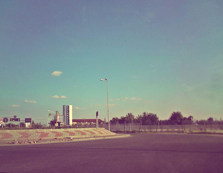 Intrare in Bucuresti