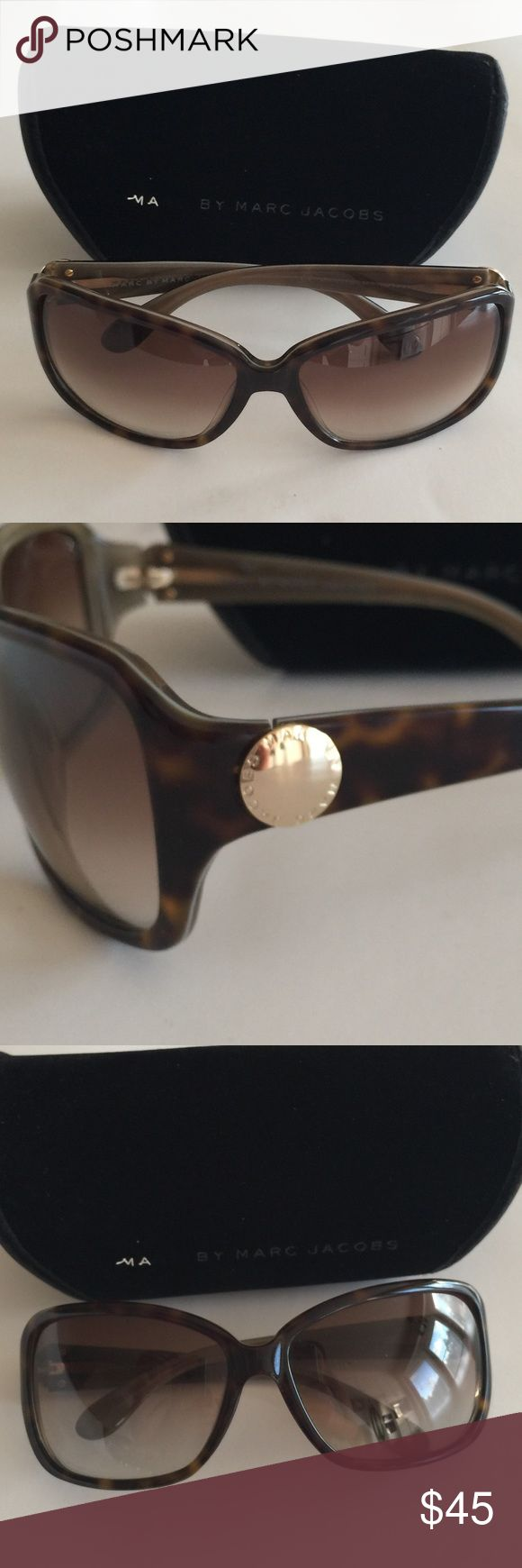 Marc by Marc Jacobs Tortoise Sunglasses Marc by Marc Jacobs Tortoise Sunglasses MMJ021/S.  No scratches on lenses - Great Condition, comes with Soft Case. Marc by Marc Jacobs Accessories Sunglasses