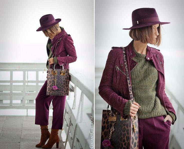 Sophie Hulme leopard-print tote bag on GalantGirl.com