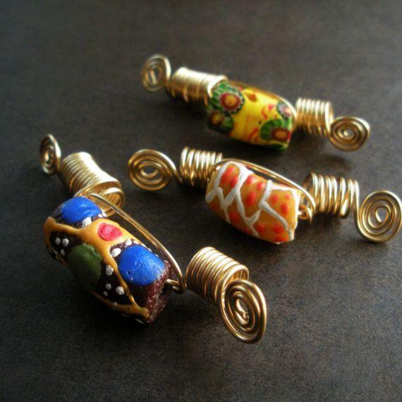 KROBO AFRICAN JEWELRY | ... out of stock krobo dreadlock jewelry set materials african krobo glass