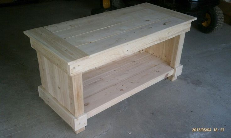 Recycled pallet TV stand or wide bench. To order contact trayz13@yahoo.com.