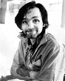"""Charles Mills Manson was a sadly mentally ill man who was unfairly crucified by the media, the public, and the courts. He was treated as an outcast since childhood and found a sense of belonging in the """"family"""" of groupies he amassed by his passionate music in the sixties. Some bad apples killed Sharon Tate, and Charlie was forced to take the fall. He is currently in solitary confinement as a political prisoner in California, after having served over fifty years."""