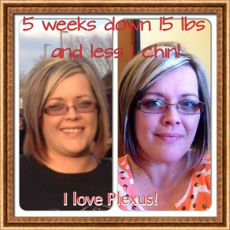 Plexus Slim Testimonial  Angela Lost 15 Pounds in 5 Weeks! ; Angela says; Here is my before and during....not before and after because I still have a long way to go!! I am just amazed at the results from my 1st 5 weeks! I have gone from an ALL DAY DR.PERRPER DRINKER to an ALL DAY WATER DRINKER. I was very skeptical because I could not function without my Dr Pepper and the caffeine. Boy, was I wrong! By the 4th... day I didn't even want a soda. www.plexusslim.com/anhall