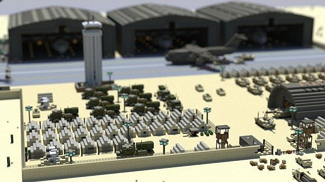 Military Base Minecraft Map Minecraft Architecture