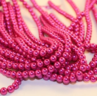 really pink beads - Breast Cancer Pink Color Code