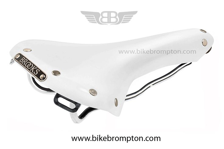 Brooks Saddle White Swallow Limited Edition for Brompton.