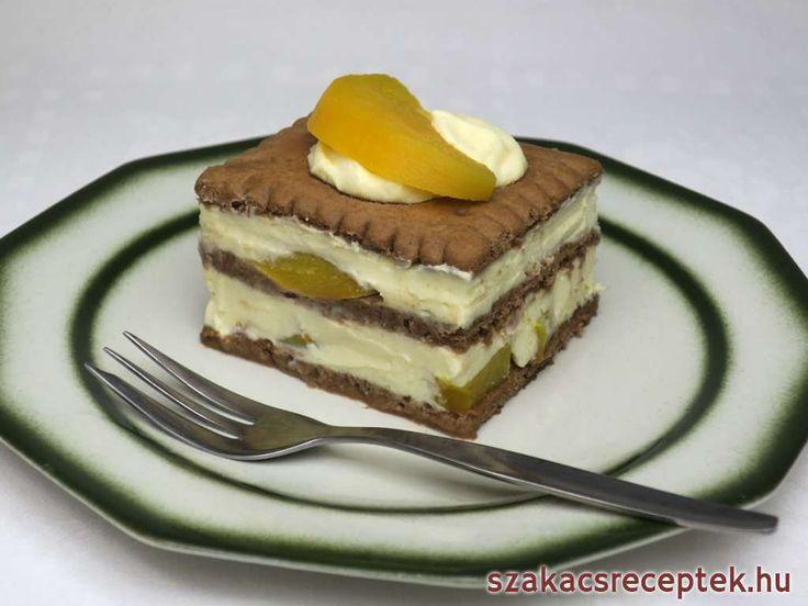Nagyon finom és egyszerű nyalánkság kakaós kekszből.