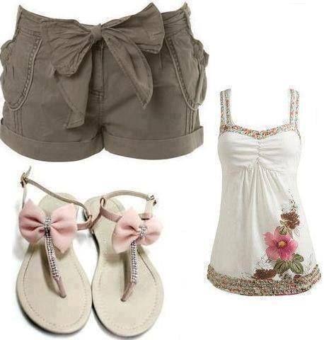 Outfit fijado para Damas: