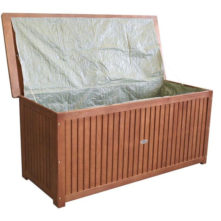 Jago Gartenmobel Erfahrung : Hartholz Auflagenbox Kissenbox Gartenbox Auflagentruhe Akazie geölt
