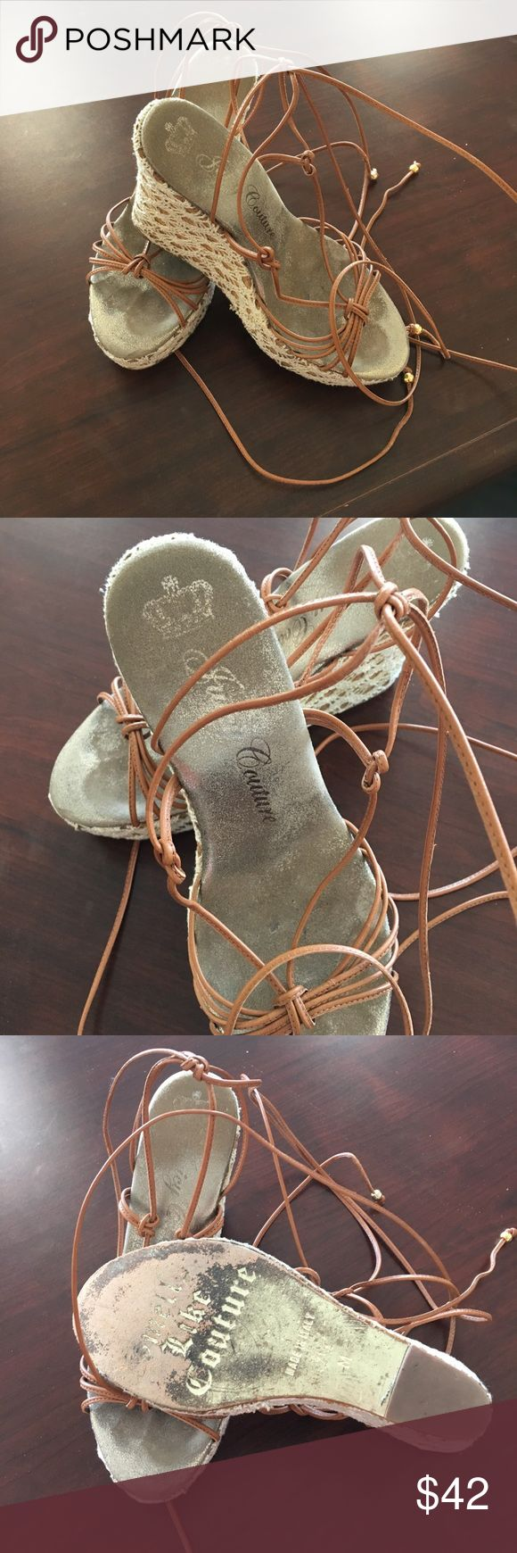 Sandals by Juicy Couture Shoes by Juicy Couture used but in a very good condition no box Juicy Couture Shoes Sandals