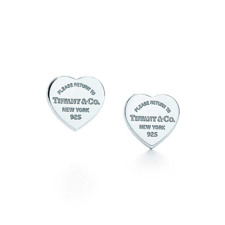 Tiffany & Co. -  Return to Tiffany™: Orecchini mini piastrina a cuore
