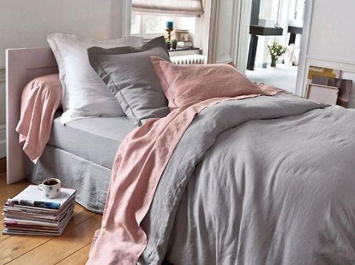 Pink Pearl Gray Via Maison Deco I Like The Color Combo