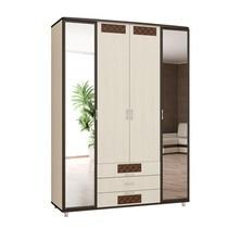 Шкафы 3х и 4х створчатые Угловые шкафы для одежды с зеркалами и без  от ведущих ижевских мебельных фабрик,Аквилон мебель,Comod мебель,Аккант мебель в Москве