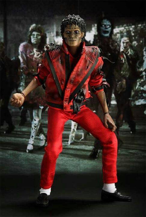 "Zombie Michael Jackson from the ""Thriller"" music video"