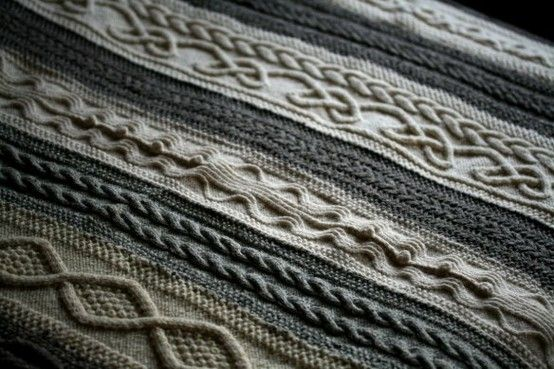 The most beautiful knitted blanket ever. by Emmadarryl